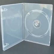 Сумки, боксы для дисков CD, DVD, DVD box 14mm прозрачный фото