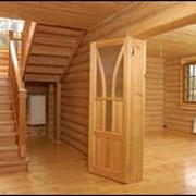 Отделка деревянных домов фото