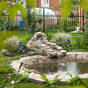 Водоёмы, декоративные пруды, фонтаны, водопады, бассейны фото