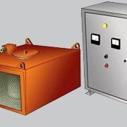Железоотделители ЗНЕм электромагнитные подвесные без автоматической разгрузки типа для извлечения случайных ферромагнитных предметов из сыпучих материалов, транспортируемых ленточными конвейерами. фото