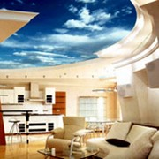 3D-дизайн потолков фото
