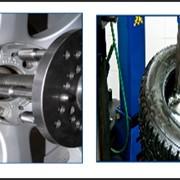 Шиномонтаж и балансировка колес фото