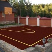 Покрытия для баскетбольных площадок фото