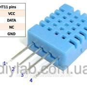 Модуль датчика температури і вологості DHT11 фото