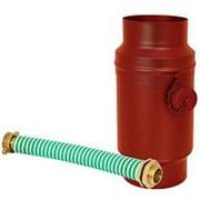 Водосборник цилиндрический в комплекте ?90 покрытие PURAL MATT ( RR23) фото