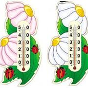 Термометр ЛЕТО на картонной основе фото