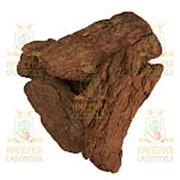 Кора лиственницы, галтованная, фракция 9-20см, 60л, мешок фото