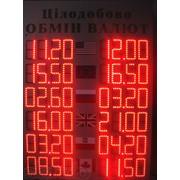 Табло обмена валют фото