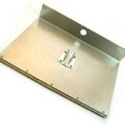 Лопата алюминиевая 500х375мм однобортная с накладкой фото
