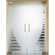 Дверь стеклянные фото