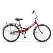 Велосипед складной Stels Pilot 710 24 (2018) красный/черный фото