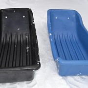 Сани для снегоходов СВП-150 без прицепного устройства толщиной 6мм фото