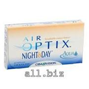 Линзы Ciba Vision Air Optix Night & Day Aqua сила от -10,00 до +6,00 фото