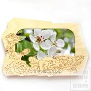 Деревянная фоторамка Розы Артикул: 038009рмк004 фото