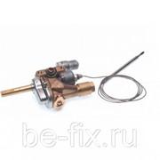 Кран газовый духовки для газовой плиты Indesit C00081465. Оригинал фото
