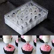 Кондитерские насадки для торта - набор 24 шт фото