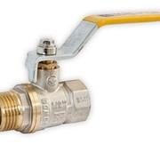 Кран шаровый для газа тип НВ ЖР оптом фото