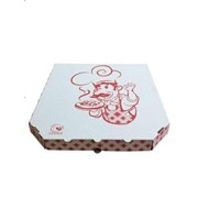 Коробка для пиццы 330x330x38 с рисунком (150шт/кор) фото