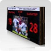 Экраны и табло электронные плазменные для помещений, Спортивные табло полноцветные фото