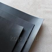 Прямоугольные куски натуральной кожи черного цвета под заказ СКУ 9001.1001 фото