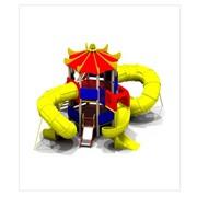 Детский игровой комплекс ДИК Тритон H г.=0,6м пласт.-1шт. H г.=2,0м пласт.-3шт (5472) фото