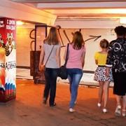Реклама в подземном переходе на Московском вокзал фото