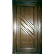 Двери из ясеня в дом фото