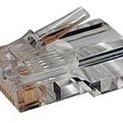Структурированная кабельная система ITK Разъём RJ-45 UTP для кабеля кат.5Е, 8P8C фото