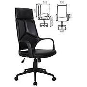 """Кресло для руководителя Brabix """"Prime EX-515"""", экокожа, черное фото"""