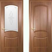 Дверь из бруса Новый стиль Донна золотая ольха фото