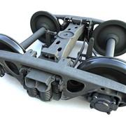 Ремонт колесных пар для тепловоза ТГМ (с ремонтом,букс и осевых редукторов) фото