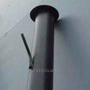 Столбы металлические для забора фото