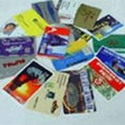 Производство пластиковых карт фото
