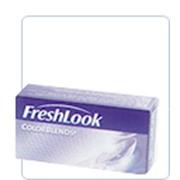 Цветные линзы плановой замены для светлых и темных глаз FreshLook ColorBlends фото
