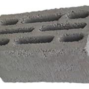Блок керамзито-бетонный восьми щелевой фото