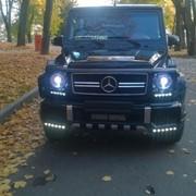 Прокат и аренда Мерседес Гелендваген с водителем фото