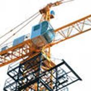 Производство секций башни башенных кранов фото