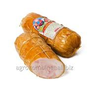 Рулет из мяса птицы Руляда по-домашнему копчено-вареная, высший сорт фото
