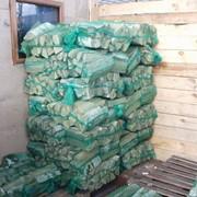 Сухие березовые колотые дрова в 40-литровых сетках с доставкой Санкт-Петербург и область фото