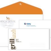 Конверты DL (евро), офссетная, цифровая печать от 100 шт. фото