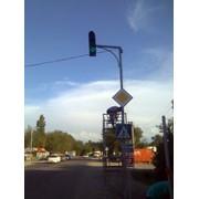 Светофор транспортный фото