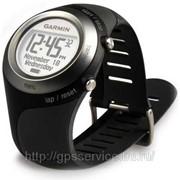 Спортивные часы без GPS приемника Garmin Forerunner 60 Women Black HR+Foot Pod (пульсометр+шагомер) фото