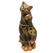 """Скульптура """"Коты пара"""" Л016 фото"""