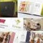 Дизайн буклета, каталога, календаря, открытки фото