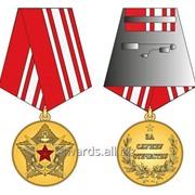Общественная медаль За службу Отечеству фото