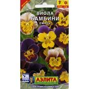 Семена цветов Виола Бамбини, смесь фото