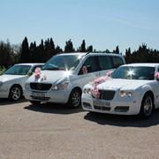 Свадебные автомобили Крым, Симферополь, Севастополь, Ялта, Евпатория, Феодосия фото