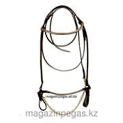 Недоуздок выводной кожаный. арт. 2003099 фото