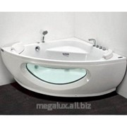 Угловая акриловая ванна с гидро и аэромассажем, 150х150 Appollo фото