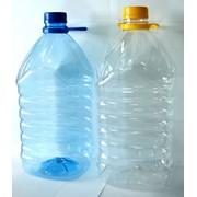 Тара ПЭТ: бутылки 6л с крышкой в комплекте фото